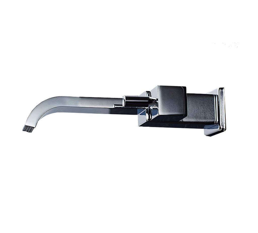 Modernes einfaches Badezimmer Aller Kupfer In-Wand Mopp-Pool-Balkon-Wäscherei-Pool-einzelner kalter Hahn