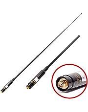 TengKo RH-660S SMA antenne Télescopique à Haute Croix Femelle 144 / 430MHz Double Band SMA-F voor Kenwood Baofeng Puxing Walkie Talkies