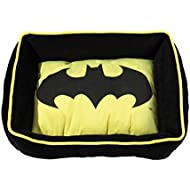 "DC Comics Batman Cuddler Bed | Superhero Dog Bed | Pet Bed Measures 19"" x 15"""