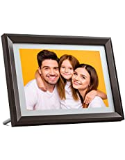 Dragon Touch Digital Picture Frame, WiFi 10.1 inch IPS Touch Screen HD Display Digital Photo Frame, 16GB Storage, Auto-Rotate, Instant Share Photos via Free App, Email, Cloud - Classic 10