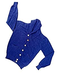 Sweet Dreams Home Hypoallergenic Deluxe Royal Alpaca Shawl Cardigan, Organic, Silkiness