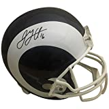 Jared Goff Autographed Los Angeles Rams Signed Full Size Football Helmet PSA DNA COA