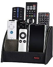 Hama Commander afstandsbediening houder (voor maximaal 9 afstandsbedieningen, ook als organizer voor brillen, smartphones, controllers, cd's, afstandsbedieninghouder) zwart
