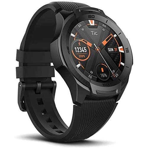 chollos oferta descuentos barato Ticwatch S2 Smartwatch Reloj Inteligente y Deportivo con Sistema Operativo Wear OS by Google 1 39 AMOLED GPS Integrado Batería 415 mAh 5ATM Impermeable Duradero Compatible con iPhone y Android