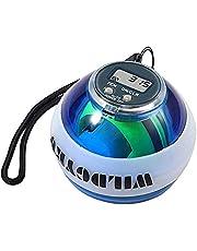 Gyro Ball, Pols Trainer Auto Start Force Ball, Pols- En Onderarmtrainer, Armversterker met Digitale LCD-teller En LED-licht