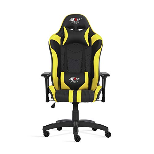 ATX Racing Nurburgring Silla Gaming, PU, Amarillo, Tamano unico