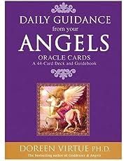 1 uppsättning med 44 Angel Tarot Cards Deck Doreen Virtue & Radleigh Valentine Psychic Oracle Well Future Engelsktalande kortspel Daglig vägledning Angel Oracle