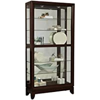 Pulaski Large Two Way Sliding Door Curio Cabinet, 42 x 15 x 83