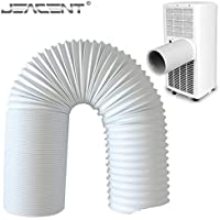 Jeacent Universal Exhaust Hose for Portable Air Conditioner,6.25 Diameter 59 Inch Length
