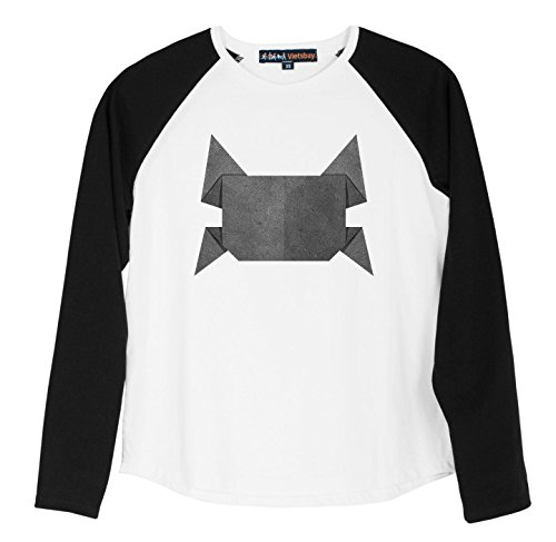 Origami Crab Recycled Papercraft Printed 100% Cotton Kid Raglan T-Shirt UTS_01 M