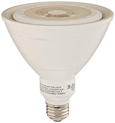 Ecosmart 120W Equivalent 3000K PAR38 LED Flood Light Bulb (E)*, Bright White