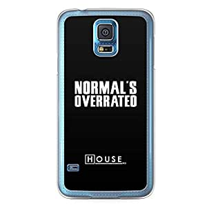 Samsung Galaxy S5 Transparent Edge Case House Normal Is Overrated