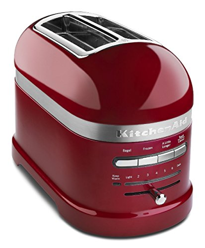 - KitchenAid KMT2203CA Toaster - Candy Apple Red Pro Line Toaster