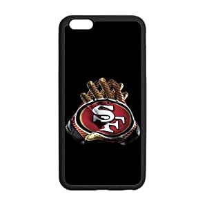 Use Both Hands To Show The Strength Of The San Francisco 49ers Iphone 6 plus 5.5 Case Cover Shell (Laser Technology)