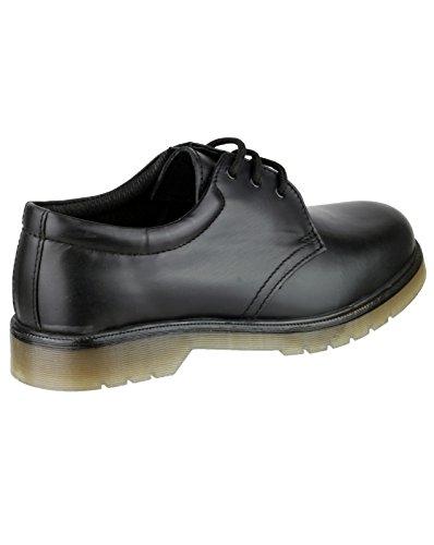 Amblers Aldershot Leather Gibson Black Size 13
