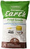 Harris Diatomaceous Earth Food Grade, 4lb w/Free Powder Duster