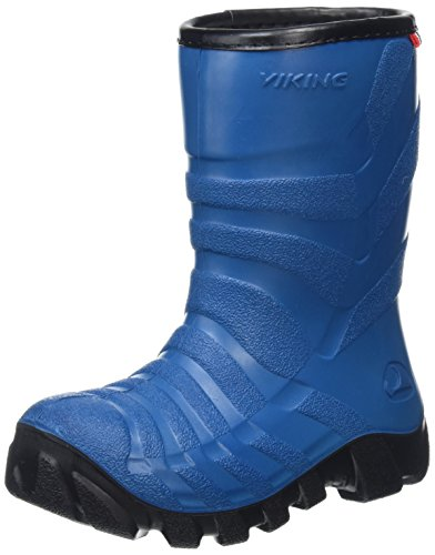 Blue 0 Ultra 3502 en 2 Bleu Enfant Caoutchouc Bottes Mixte Viking Blau Black EvdwWpqwF