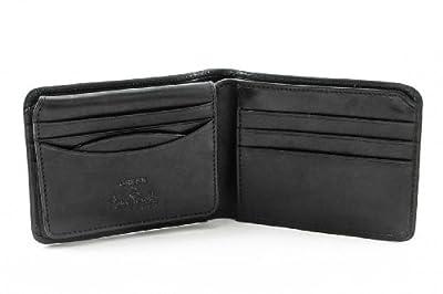 Tony Perotti Italian Leather Classic Bifold Wallet with ID Window Flap