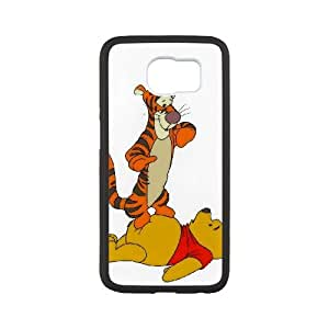Samsung Galaxy S6 Cell Phone Case White Tigger & Pooh and a Musical Too Hjzon