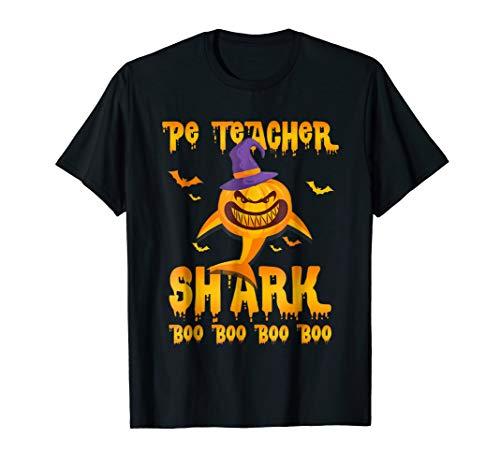 PE Teacher Boo Boo Boo Shirt Halloween Funny Costume ()