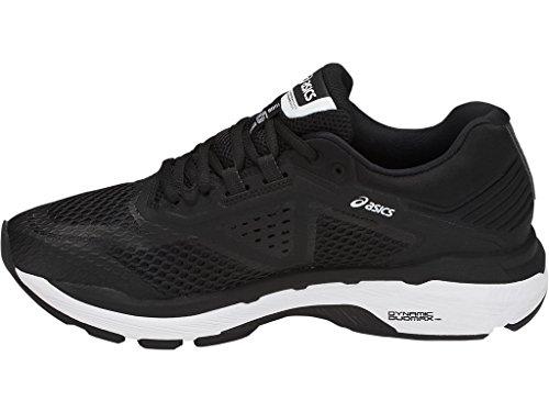ASICS Women's GT-2000 6 Running Shoe, Black/White/Carbon, 5 M US by ASICS (Image #4)