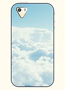 OOFIT Phone Case design with White Cloud for Apple iPhone 4 4s 4g