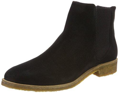 Royal RepubliQ Women's Prime Crepe Suede-Blk Chelsea Boots Black (Black 01) KlbJcGlwik
