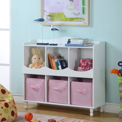 Cubby Toy Storage (Toy Chest Durable Wooden)