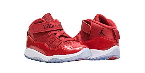 378040-623 Kids Toddler 11 Retro BT Jordan Gym Red Black White