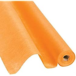 Orange Gossamer Roll 100 FT X 3 FT Wedding Aisle Decoration Table Cover NEW