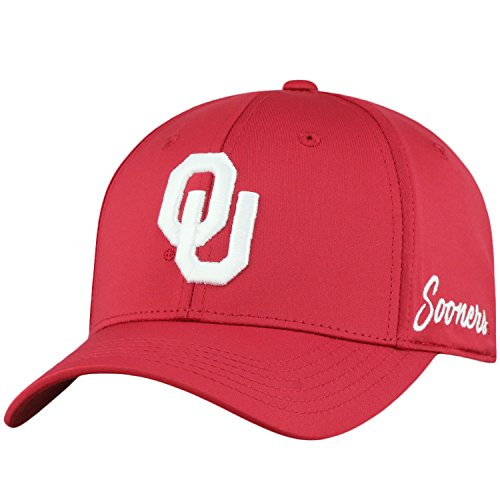 - Top of the World Oklahoma Sooners Men's Fitted Hat Icon, Cardinal, One Fit