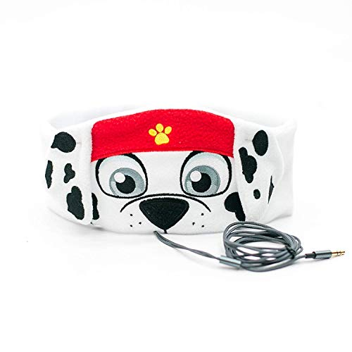 Paw Patrol Kids Headphones by CozyPhones - Volume Limited with Ultra-Thin Speakers & Super Comfortable Soft Headband - Perfect Toddlers & Children's Earphones for School, Home & Travel – Marshall