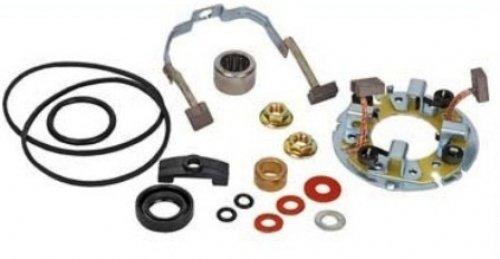 Brand New Starter Repair / Rebuild Kit for Honda CB550SC Nighthawk 544cc 1983, CB650SC Nighthawk 627cc 1983-1985 Discount Starter and Alternator