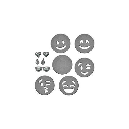 Spellbinders Emoji's Die Set