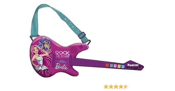 IMC 784161 Barbie - Guitarra eléctrica de Juguete: Amazon.es: Juguetes y juegos