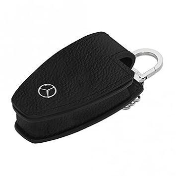 Mercedes Benz AMG Leder  Keycase Schlüsseletui Schlüsseltasche NEU