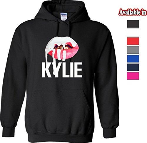 Kylie Jenner Lips Logo T Shirts Hoodies Tanks Lhoodie Black