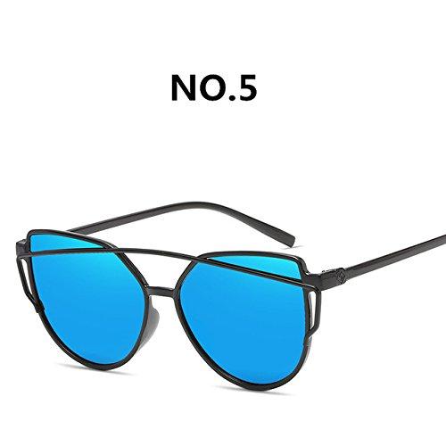 Gafas marca de ZHANGYUSEN de moda del gafas retro C5 moda C8 de colorido Mujeres gafas sol de nuevas de 2018 diseñador sol Pop IrxIawqn0p