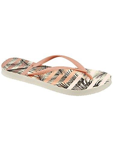 Tan Reef Sandals Escape Palm Stripe Women's qwwCtWPz