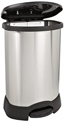 Rubbermaid Commercial Stainless Steel Step-On Trash Can