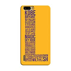 Cover It Up - Lakers Kobe Honor 6 Plus Hard Case