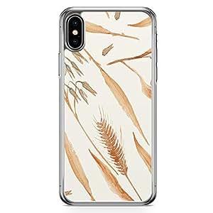 Loud Universe Phone Case For iPhone XS Trendy Phone Case Beige Phone Case Farm Transparent Edge iPhone XS Case