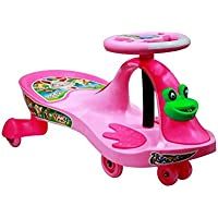 Style Zone Baby's Ride on Frog Swing Ride on car-p