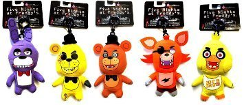 """FNAF Officially Licensed Five Nights At Freddy's 5"""" Plush To"""
