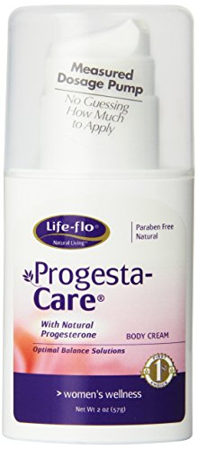 Progesta Life (Life-Flo Progesta-Care Natural Progesterone Body Cream, Menopause Formula, 2-Ounce Bottle)