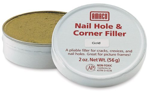 Nail Hole and Corner Filler - Gold by AMACO (Image #1)