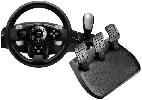 Thrustmaster RGT FFB Clutch - Volante/mando (Ruedas + Pedales, PC, Playstation 3, Digital, Alámbrico, Negro, Caja): Amazon.es: Videojuegos