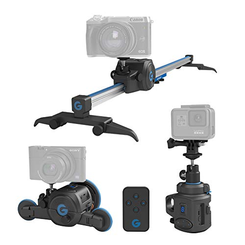 GripGear The Directors Set – Electronic Camera Slider & Micro Dolly & 360° Panoramic Time Lapse System.
