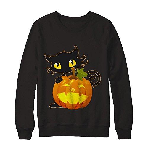 Teely Shop Women's Parakeet Bird Halloween Costume Idea Gildan - Pullover Sweatshirt/Black/L -