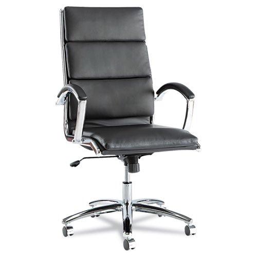Alera - Neratoli Series High-Back Swivel/Tilt Chair, Black S